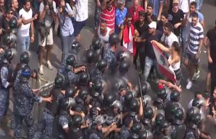 تجددالمظاهرات في لبنان احتجاجاً على تدهور الأوضاع الاقتصادية