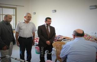 غزة: مستشفى حمد تحتفي بالمسنين في يومهم العالمي