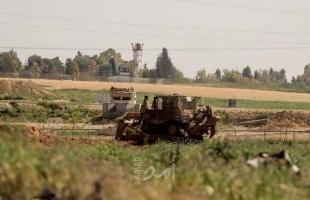 توغل محدود لجرافات جيش الاحتلال شمال قطاع غزة