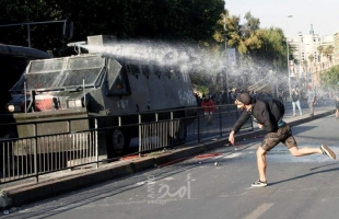 إعلان حالة الطوارئ في تشيلي بعد احتجاجات عنيفة