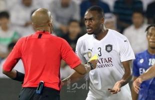 """عقوبة """"رادعة"""" للاعب قطري بسبب """"سوء السلوك"""""""