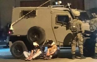 جيش الاحتلال يصيب شاب ويعتقل عدد آخر  في محافظات الضفة الغربية