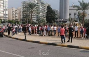 اشتباكات بين الجيش اللبناني والمتظاهرين لفض الاعتصامات وفتح الطرقات