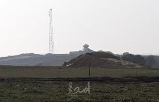 قوات الاحتلال تطلق النار وقنابل الغاز تجاه رعاة الأغنام والمزارعين شرق خانيونس