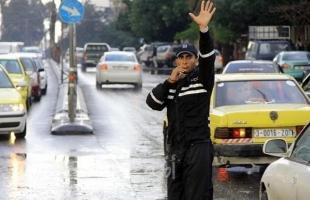 """مرور غزة تعلن عن حوادث الطرق خلال 24 ساعة وتفاصيل الحركة المرورية """"الجمعة"""""""