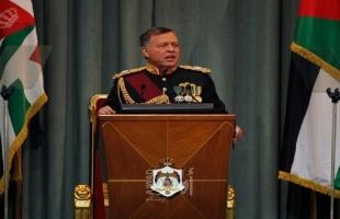 الملك عبدالله: غياب أفق الحل العادل للقضية الفلسطينية وصفة لزعزعة أمن العالم