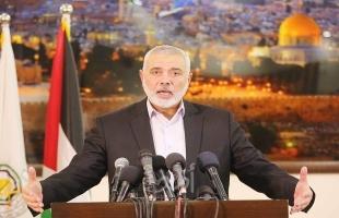 """حماس توافق على اجراء الانتخابات دون شروط.. هنية: قبلنا تقديم التنازلات """" كرمال وطننا"""""""
