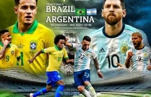 لعنة كوبا أمريكا تهدد البرازيل ضد الأرجنتين
