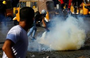 العراق: مقتل مواطن خلال اشتباكات بين المحتجين وقوات الأمن في بغداد
