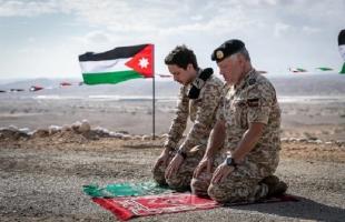 الملك عبدالله يزور منطقة الغمر لأول مرة بعد عودتها للأردن