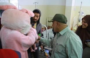 """الخدمات الطبية و الكلية الجامعية تنظمان """"الكرنفال الترفيهي"""" للأطفال شمال غزة"""