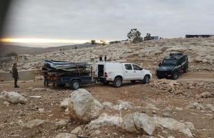 """جرافات جيش الاحتلال تهدم """"مساكن وبركس زراعي"""" شرق القدس"""