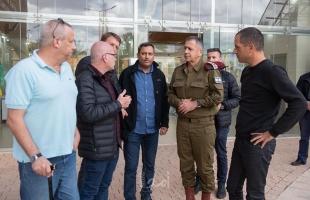 """""""واللا"""" العبري"""" كوخافي يصدر أوامر بالاستعداد التام للرد على أي تدهور أمني من غزة"""