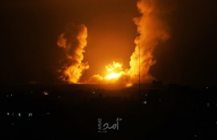 محدث - الطيران الإسرائيلي يستهدف نقطة عسكرية شمال قطاع غزة