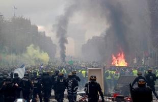 خلال تجدد الإحتجاجات.. إصابة أكثر من 60 شرطياً في فرنسا