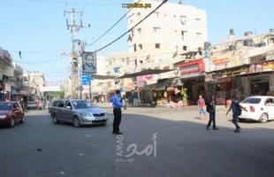 """مرور غزة: إغلاق كلي لشارع حميد في """"الشاطئ"""" لوجود أعمال بناء"""