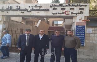 عبد الهادي يتفقد مشفى يافا ويسلم قرار عباس لشراء أجهزة هامة