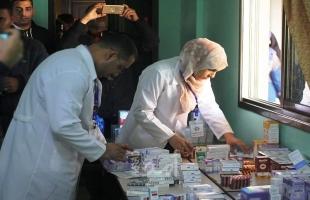 صيدلية بخانيونس تشارك في يوم طبي مجاني
