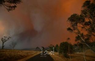 أستراليا تعلن حالة التأهب مع اقتراب الحرائق من العاصمة