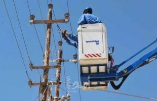 تعطل مفاجئ لأحد خطوط الكهرباء في شمال القطاع