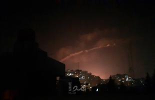 صور جوية تكشف حجم الدمار  لمخازن ومقر الحرس الثوري في دمشق بعد الضربة الإسرائيلية