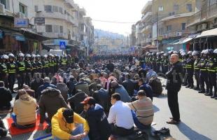 """أردنيون من وسط عمان للرزاز: تسقط """"اتفاقية"""" العار مع الاحتلال"""