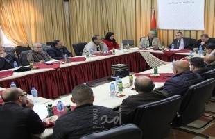 أوقاف رام الله تنظم ورشة عمل لمناقشة الترتيبات المتعلقة بموسم العمرة