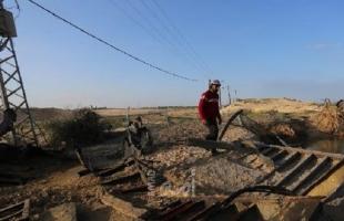 بالصور.. دمار هائل نتيجة قصف طائرات الاحتلال لأهداف في رفح