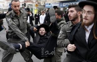 بعد اشتباك الشرطة مع الحريديم..تل أبيب: اعتقال 18 متدينا يهوديا وإصابة 3 شرطيين