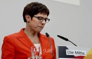 كرامب كارنباور تتخلى عن الترشح لمنصب المستشارية الألمانية