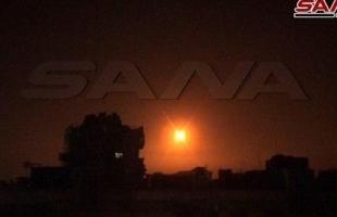 مقتل (4) ضباط ايرانيين و(3) سوريين بقصف اسرائيلي على دمشق