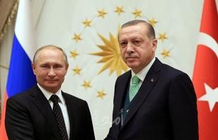 بوتين وأردوغان يناقشان التسوية السورية مع الأخذ بالاعتبار تأزم الوضع في إدلب