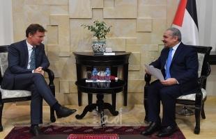 أشتية يدعو الاتحاد الأوروبي إلى الاعتراف بفلسطين وخلق آلية دولية من أجلها