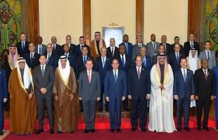 """تفاصيل لقاء الرئيس المصري """"السيسي"""" بــ رؤساء مخابرات الدول العربية"""