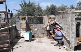 غزة: إصابة طفل إثر سقوط لوح من الصفيح عليه.. وتفاصيل خسائر المنخفض الجوي