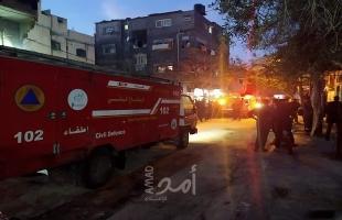 بعد حريق النصيرات.. أمد يرصد حصيلة الحرائق في قطاع غزة