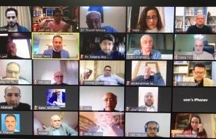 شخصيات فلسطينية تدعو إلى المشاركة في تحمّل المسؤولية والقرار ولجان الطوارئ لمواجهة كورونا