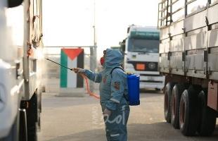 وصول شُحنة مساعدات أردنية إلى قطاع غزة