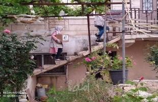 رام الله: جمعية النجدة الاجتماعية لتنمية المرأه الفلسطينية توزع طروداً غذائية