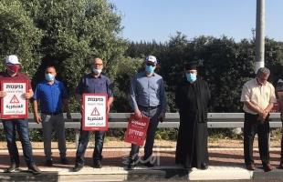 تظاهرتان للجبهة والحزب الشيوعي في الناصرة دعما للسلطات المحلية- صور