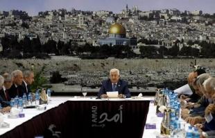 """مصادر لـ """"أمد"""": تأجيل اجتماع """"القيادة الفلسطينية"""" لما بعد تنصيب الحكومة الإسرائيلية"""