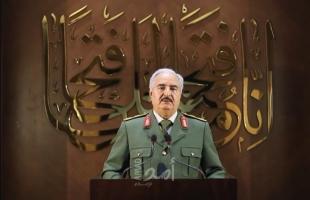 حفتر يحذر من عرقلة المسار السياسي في ليبيا