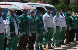 وسط حضور أمني مكثف.. غزة: دفن المواطنة أبو ريدة  المتوفية بفيروس كورونا