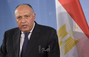وزير الخارجية المصري يبحث التنسيق الثلاثي مع نظيريه الأردني والعراقي