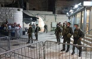 """الأوقاف:(22) إقتحاماً للاقصى و46 وقتا منع الاحتلال رفع الاذان في المسجد الابراهيميخلال """"يونيو"""""""