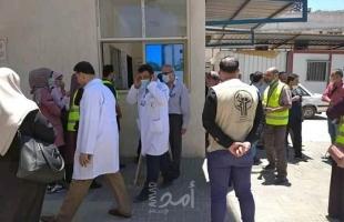 """""""الفلسطينية لمرضى السرطان"""" تشارك في حملة تبرع بالدم لمستشفى الشفاء بغزة- صور"""