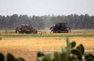 جرافات جيش الاحتلال تتوغل شمال قطاع غزة