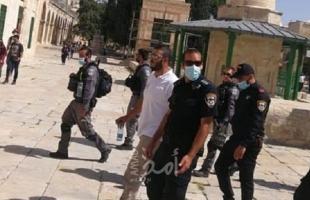 """شرطة الاحتلال تبعد """"فادي عليان"""" عن الأقصى لمدة 6 أشهر"""