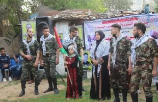جمعية حسام تنظم حفلًا وطنيًا ابتهاجًا بحرية الاسير رامي عنبر