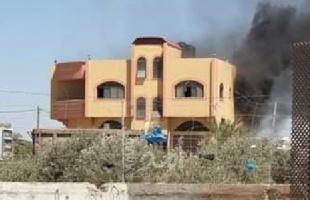 الدفاع المدني يسيطر على حريقين اندلعا بمنزلين في غزة وخانيونس